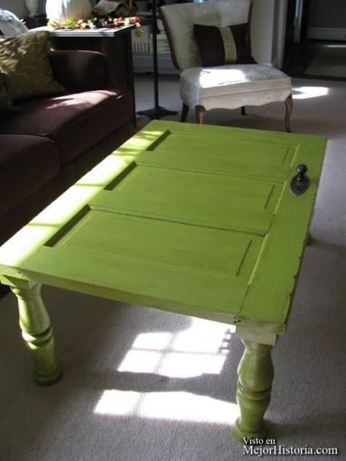 mesa casera