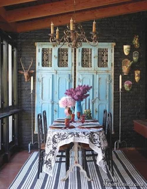 bricolaje en puertas de madera