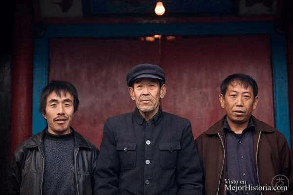Fotografía hombres chinos